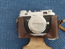 Officine Galileo Condor II 35mm Camera in original case. Working! Leica copied!