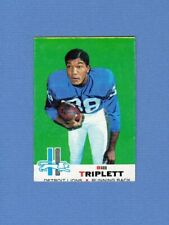 1969 Topps Football #32 Bill Triplett