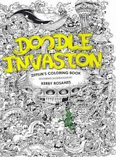 Doodle Invasion: Zifflin's Coloring Book by Zifflin (Paperback / softback, 2013)
