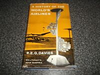 Book A History of the World's Airlines Davies Signed to Giles Guthrie BOAC CEO