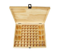 64 Slots High grade wood Essential oil Store box Aromatherapy Oils Storage Box