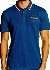 ADIDAS Poloshirt Official UEFA EURO France blau AC6816 NEU Fussball Gr. XS