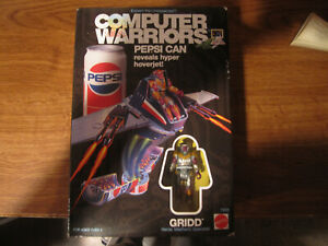 Computer Warriors - Pepsi Can Gridd toy Mattel Complete with Box 1989