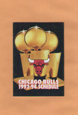 1993-94 NBA BASKETBALL CHICAGO BULLS GAME POCKET SCHEDULE