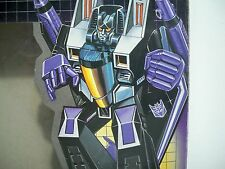 K1700754 SKYWARP MIB SEALED BUBBLE MINT IN BOX G1 TRANSFORMERS ORIGINAL COMPLETE