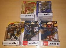 PACK AMIIBO THE LEGEND OF ZELDA BREATH OF THE WILD SEALED SKYWARD, SHEIK, WOLF