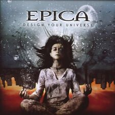 """Epica """"Design Your Universe"""" CD symphonic metal nuovo"""