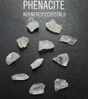 PHENACITE / PHENAKITE CRYSTAL specimen + High Vibration Synergy Healing Stone ++
