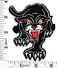 Black The Panther Big Cat puma jaguar Patch tiger Applique Sew Iron on Patch