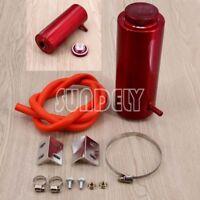 800ml Cylinder Radiator Overflow Reservoir Coolant Tank Aluminum Can Red AU