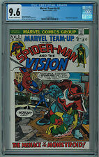 MARVEL TEAM-UP #5 CGC 9.6 HIGH GRADE OFF-WHITE TO WHITE PAGES BRONZE AGE