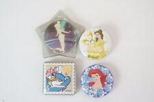 Disney World Button Selection Tinker Bell Daisy Belle Ariel Princess JAPAN