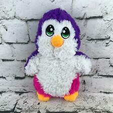 Fiesta Penguin Plush Pink Purple Shaggy Standing Stuffed Animal Soft Cute Toy