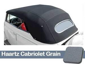 1967-1972 VW Super Beetle Convertible Top Haartz Cabriolet Grain