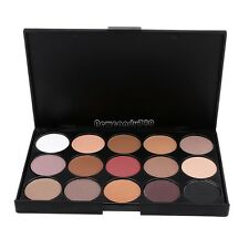 Pro 15 Colors Warm Eye Shadow Palette Matte Shimmer Eyeshadow Makeup Tool Set