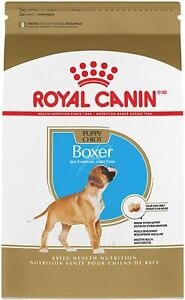 ROYAL CANIN BREED HEALTH NUTRITION Boxer Puppy Breed Specific dry dog food 30lbs