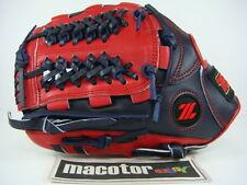 """ZETT Gran Status 12"""" Infield Baseball / Softball Glove Navy Red LHT SALE Nets"""