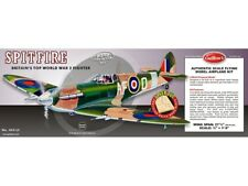 Supermarine Spitfire Flying Model Balsa Aircraft Kit 702mm Wingspan from Guillow