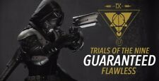TRIALS OF THE NINE GUARANTEED FLAWLESS! (PS4) 15$ per character or 40$ for all 3