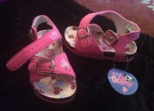 Sandales fille Rose Neuf Petshop Littlest , Pointure 25 Chaussure Ete Tong
