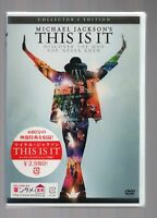 MICHAEL JACKSON'S THIS IS IT Collector's Edition [JAPAN OFFICIAL DVD] Region2