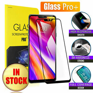 For LG G6 G7 G8 Thinq V20 V30 X Power Tempered Glass Screen Protector Protector