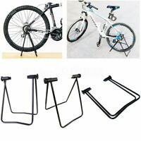 MTB Bicicleta Plegable Soporte de Piso Almacenamiento Pantalla Rack Trabajo Repa