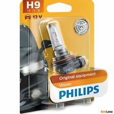 PHILIPS H9 Vision Car Headlight Bulb 30% More light Single 12361B1