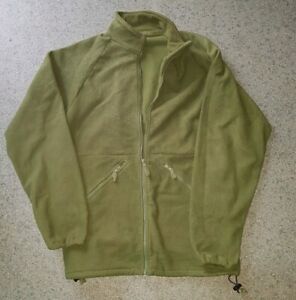 BRITISH ARMY COLD WEATHER FLEECE JACKET, VERY GOOD CONDITION, 180/96 LRG
