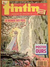 BD Comics Magazine Hebdo Journal Tintin No 46 43e 1988 Le Monde des Fées
