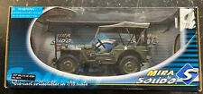 JEEP WILLY U.S. Army  MIRA SOLIDO  Scale 1/18th  Factory sealed Die-cast NIB