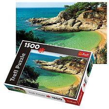 Trefl 1500 pezzi adulto grande Mysterious Bay Mare Alberi pavimento Puzzle NUOVO