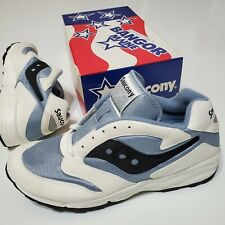 Saucony Bangor vintage DeadStock Usa Made 1990s Men's 10.5 New Os Sneakers Rare
