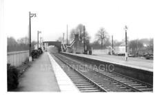 AB1 Real Railway Photograph Bedwyn station looking west 1964