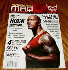 DWAYNE JOHNSON THE ROCK MAQ Magazine Winter Spring 2008 WWE Actor