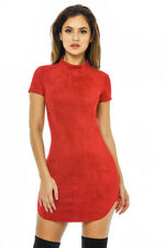AX Paris Womens Mini Dress Red Short Sleeve Party Ladies Casual Cocktail Sizes 14