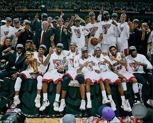 Miami Heat 2012 Team NBA Basketball Licensed 8x10 Glossy Photo A9