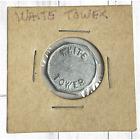Vintage White Tower Hamburger Restaurant Return Bottle for 5 Cents Coin