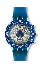 SWATCH  AQUACHRONO  -  SBN101 BIG BLUE  -  BRAND NEW !