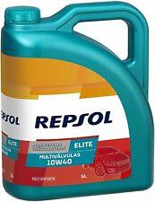 REPSOL ELITE MULTIVALVULAS 10W40 502.00/505.00 5LT aceite para motor.FULLY SYNT.
