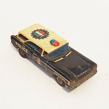 Vintage 1950's Nakamura Tin Litho Toy Friction Car Highway Patrol Police Car NT