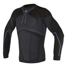 funcional CAMISETA MANGA LARGA Dainese D-core Aero Tee ll Color: negro / Azul