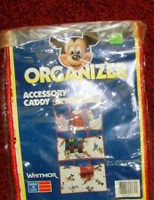 "NEW Whitmor Mickey Mouse Accessory Caddy organizer 29.5x14.5"" Disney Donald FUN"