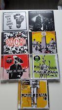 10 cd's Punk (69', Punkorama, Exploited, British)