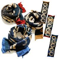 "Kapital Capital Milling Wool Muffler "" Five-Ring Ainu "" Scarf From Japan New"