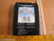 The Muppet Movie 1979 Original Soundtrack 8-Track tape HTF