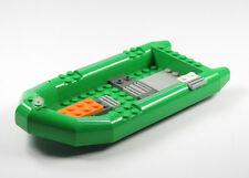 LEGO City Bateau bateau pneumatique Vert Caoutchouc
