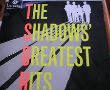 "SHADOWS - THE SHADOWS GREATEST HITS - 12"" LP - Columbia"