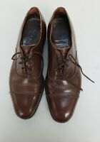 Church's Balmoral Brown Leather Custom Grade Cap Toe Oxford Dress Shoes Est. 10C
