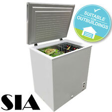 SIA Large Chest Freezer In White | 203 Litre Capacity | A+ Energy Rating